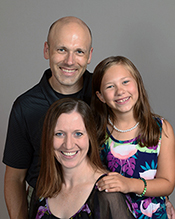 Dr. Steckelberg and family